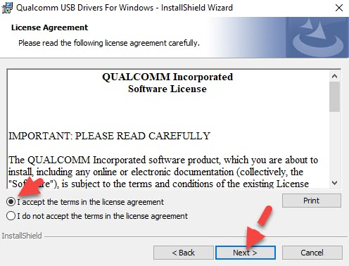 Qualcomm USB Driver