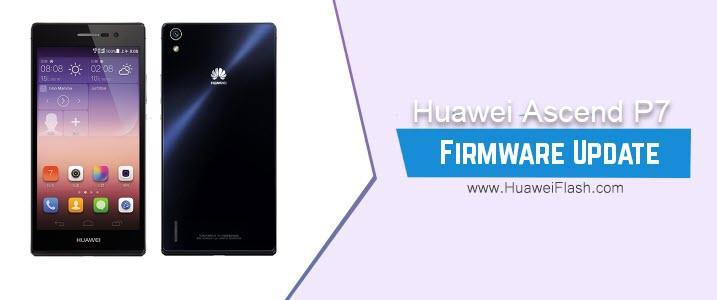 Huawei Ascend P7 Stock Firmware