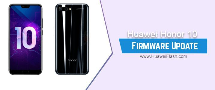 Huawei Honor View 10 Stock Firmware
