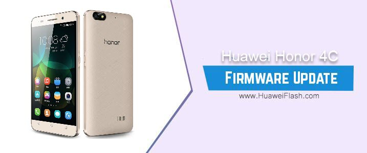 Huawei Honor 4C Stock Firmware