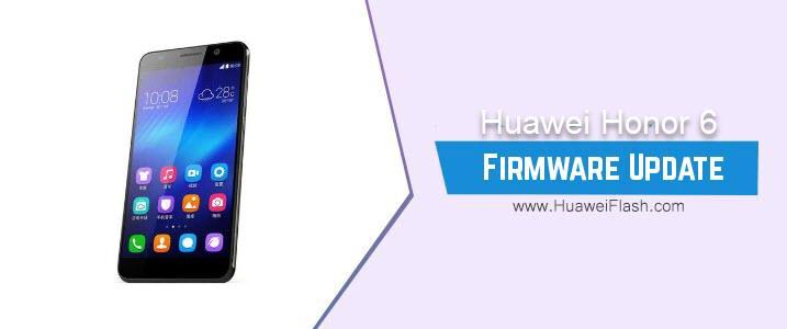 Huawei Honor 6 Stock Firmware