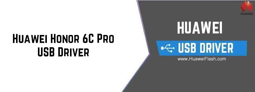 Huawei Honor 6C Pro USB Driver