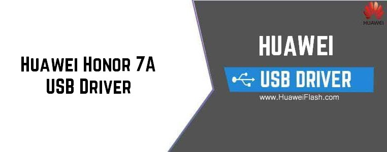 Huawei Honor 7A USB Driver
