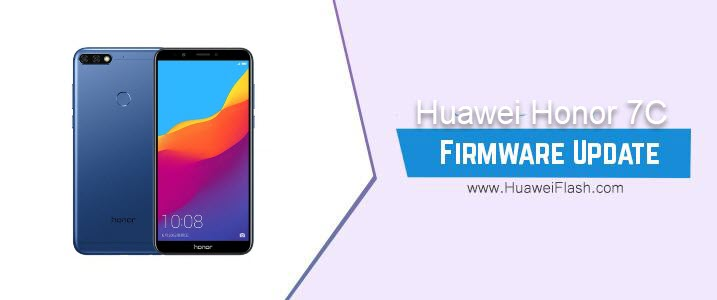 Huawei Honor 7C Stock Firmware
