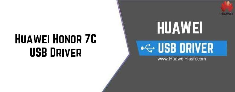 Huawei Honor 7C USB Driver