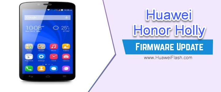 Huawei Honor Holly Stock Firmware