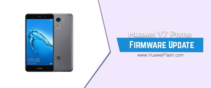 Huawei Y7 Prime Stock Firmware