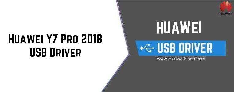 Huawei Y7 Pro 2018 USB Driver