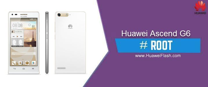 ROOT Huawei Ascend G6