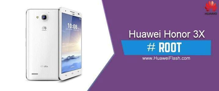 ROOT Huawei Honor 3X