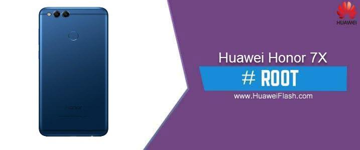ROOT Huawei Honor 7X