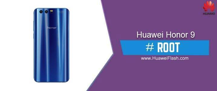 ROOT Huawei Honor 9