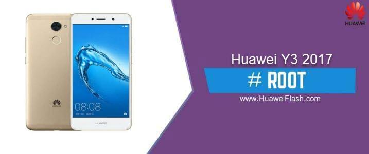 ROOT Huawei Y3 2017