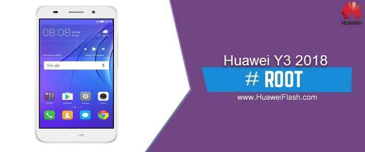 ROOT Huawei Y3 2018