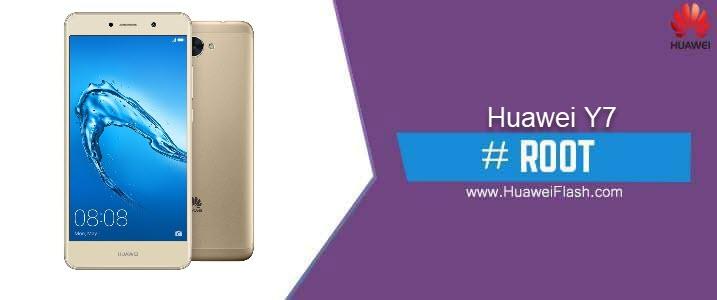ROOT Huawei Y7