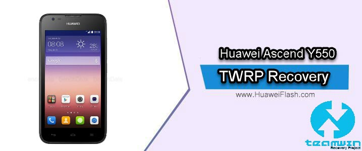 TWRP Recovery on Huawei Ascend Y550