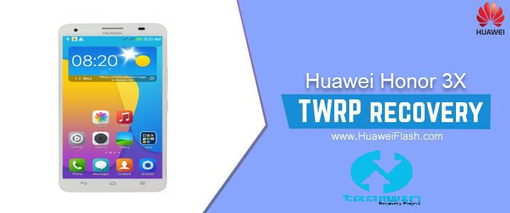 TWRP Recovery on Huawei Honor 3X