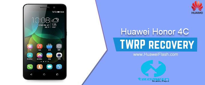 TWRP Recovery on Huawei Honor 4C