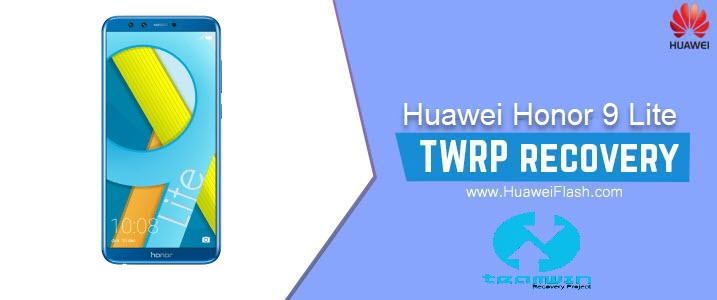 TWRP Recovery on Huawei Honor 9 Lite
