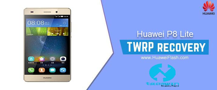 TWRP Recovery on Huawei P8 Lite