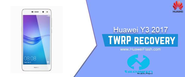 TWRP Recovery on Huawei Y3 2017