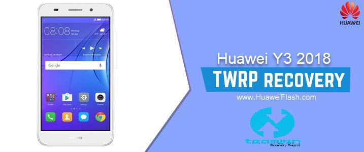 TWRP Recovery on Huawei Y3 2018