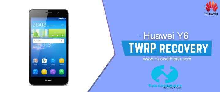 TWRP Recovery on Huawei Y6