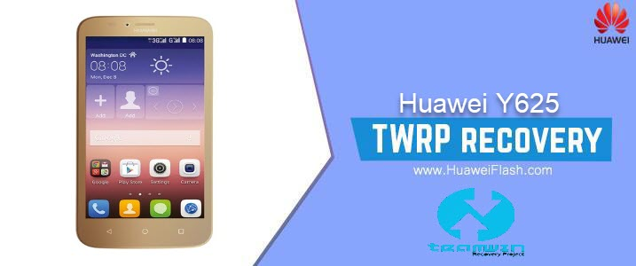 TWRP Recovery on Huawei Y625