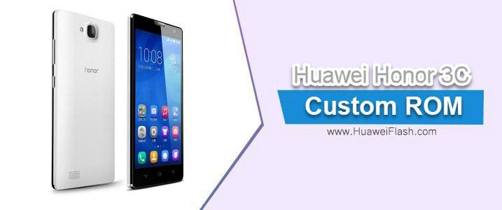 Resurrection Remix N on Huawei Honor 3C