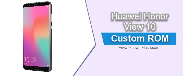 Resurrection Remix O v6.0.0 on Huawei Honor View 10