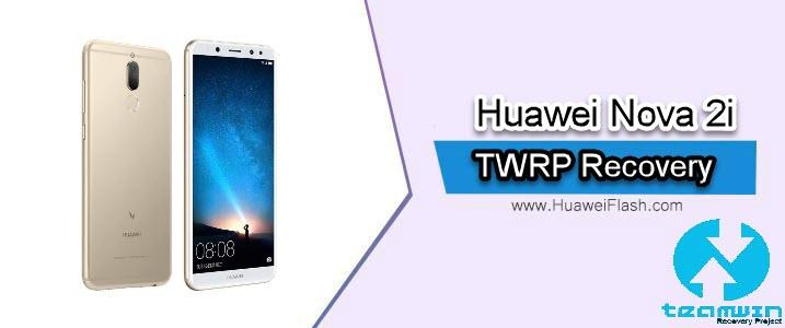 TWRP Recovery on Huawei Nova 2i