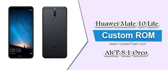 AICP 8.1 Oreo on Huawei Mate 10 Lite