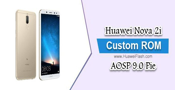 AOSP-9.0-Pie-on-Huawei-Nova-2i