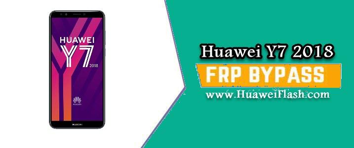 FRP lock on Huawei Y7 2018