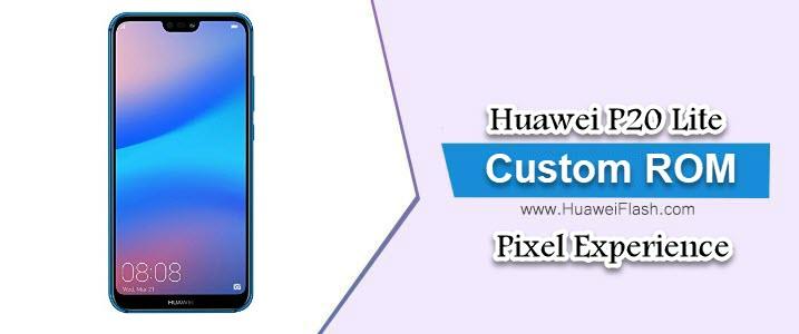 Pixel Experience 9.0 Pie on Huawei P20 Lite