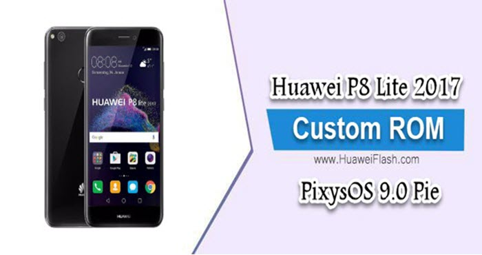 PixysOS-9.0-Pie-on-Huawei-P8-Lite-2017