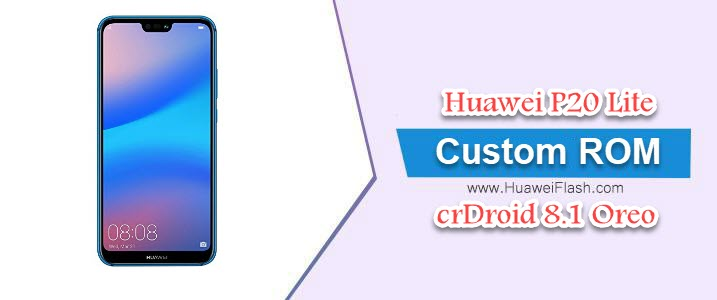crDroid 8.1 Oreo on Huawei P20 Lite