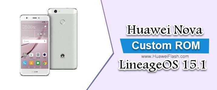 LineageOS 15.1 on Huawei Nova
