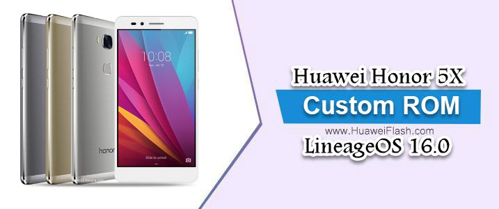 LineageOS 16.0 on Huawei Honor 5X