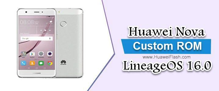 LineageOS 16.0 on Huawei Nova