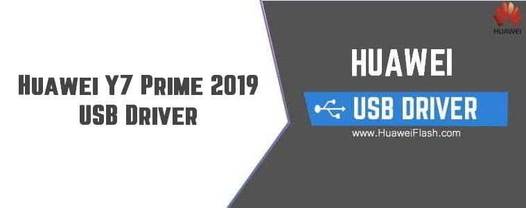 Huawei Y7 Prime 2019 USB Driver