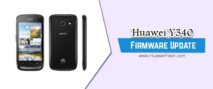 Huawei Y340 Stock Firmware