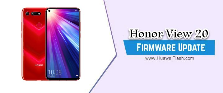 Honor View 20 Stock Firmware