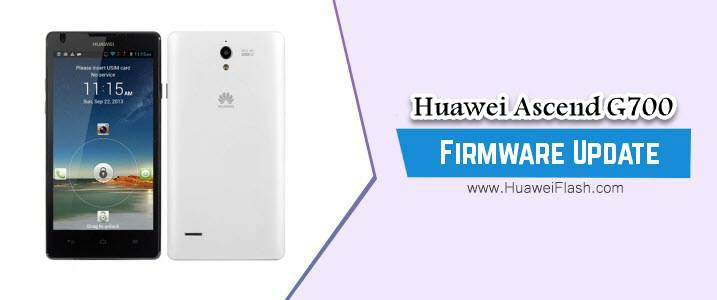 Huawei Ascend G700 Stock Firmware