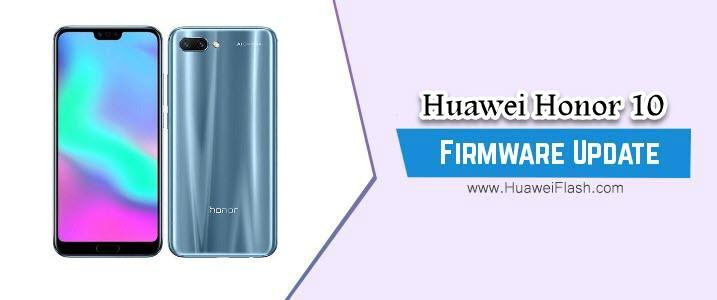 Huawei Honor 10 Stock Firmware