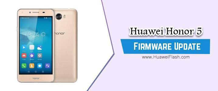 Huawei Honor 5 Stock Firmware
