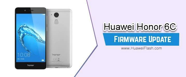 Huawei Honor 6C Stock Firmware