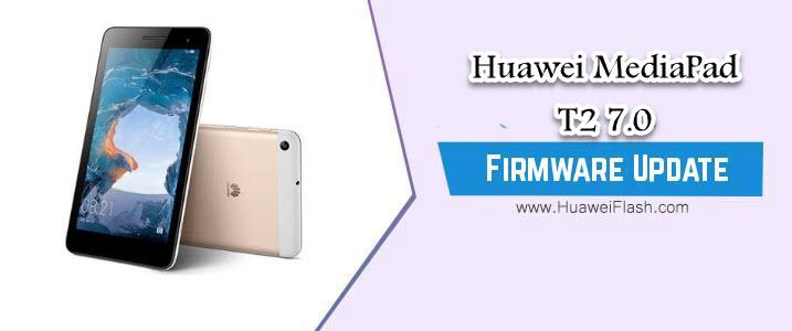 Huawei MediaPad T2 7.0 Stock Firmware