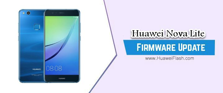 Huawei Nova Lite Stock Firmware
