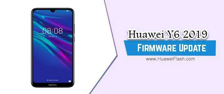 Huawei Y6 2019 Stock Firmware